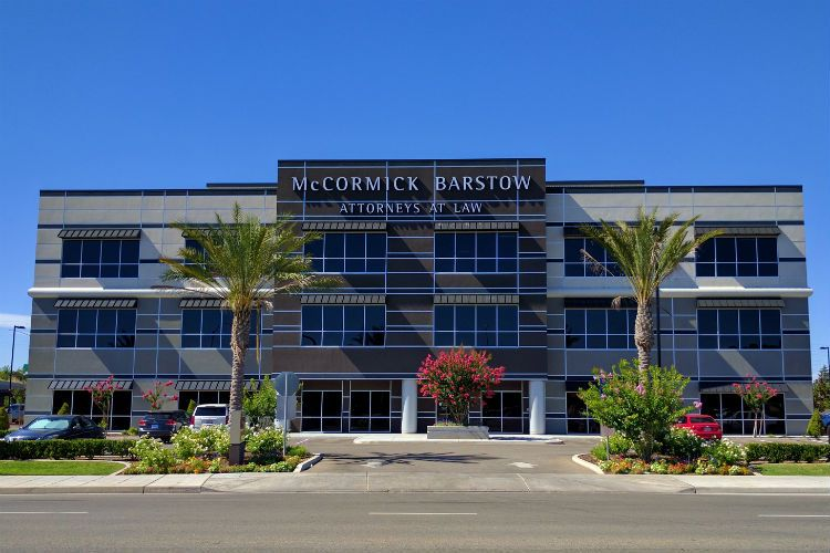 Finished McCormick Barstow building